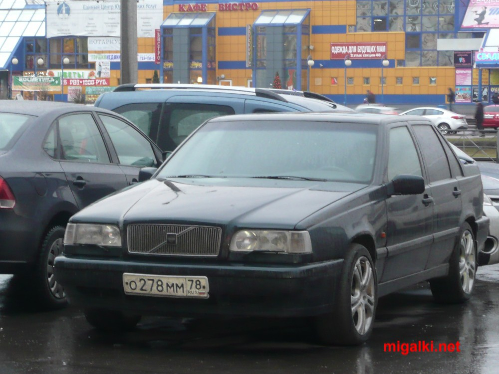 О278ММ78